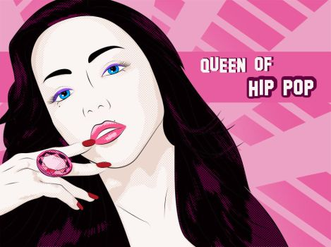 Queen of Hip Pop by ZeBiii