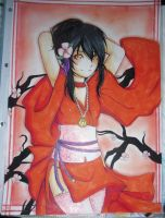 COPIC: yuna by kimbolie12