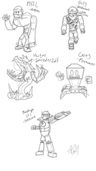 DW Redesign Sketch Dump by Thesimpleartist4