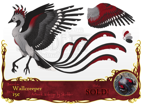::Phoenix ADOPTABLE #1:: (closed) by Skudde