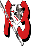 Friday the 13th tattoo design by CyberII