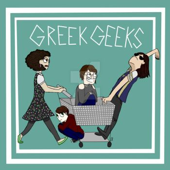 Draw Your Squad Shopping Cart Greek Geeks by Taki-chanEDM