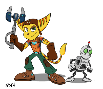 Ratchet and Clank by SegaNintendoUbisoft