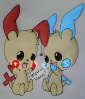 plusle and minun request