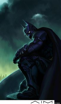 The Dark Knight by XL-Kong