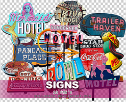 Sign PNGs by Bellacrix