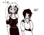 {Mei and Liz} same age by Zelda-muffins