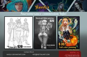 Commission Info by Hassly