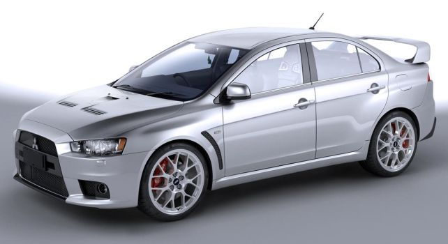 Mitsubishi Evo X studio by JohnZi