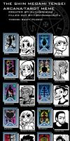 Scott Pilgrim Arcana Meme by NatureReborn