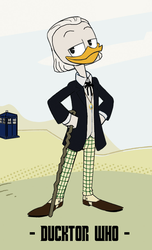 Ducktor Who - 1st Ducktor by JStCPatrick