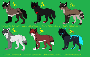 Wolf Adopt -OPEN- by XxPatchTheFallenxX