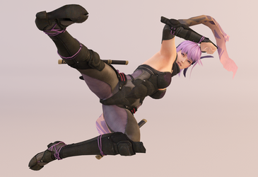 Ayane 3DS Render 25 by x2gon