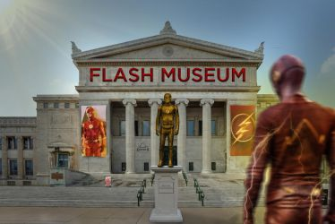 The Flash Museum (Alt version with flash) by SavageComics