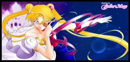 Sailor Moon / Serenity Fan Art by Zendaru
