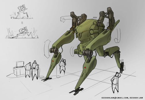Mech Design by keshanlam