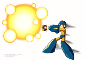Megaman 8 - Flash Bomb by innovator123
