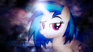 Vinyl Scratch Wallpaper - TygerxL Collab by SandwichDelta