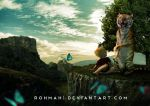 Calvin and Hobbes by RohMah1