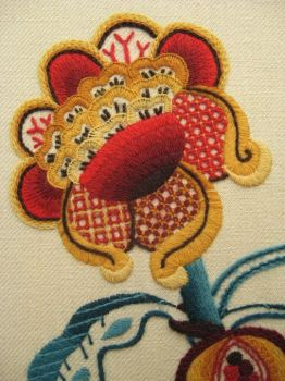 Jacobean Detail by ralrayembroidery