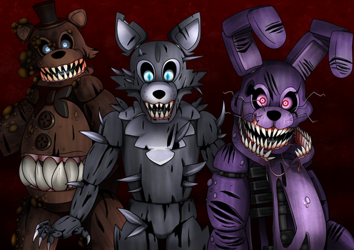 The Twisted Ones by Andiiiematronic