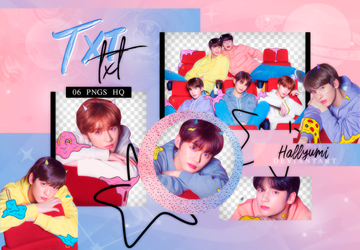 PNG PACK: TXT #3   'The Dream Chapter: STAR' by Hallyumi