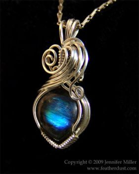 Everblue Heart Labradorite by Nambroth