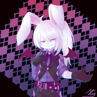 Blanc the Bunny by Tron-Silver