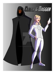 Cam's MAU Cloak and Dagger by TheScarletMercenary