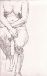 nude sketch by the-simon