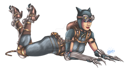 Catwoman by KeithByrne