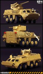 BTR-4 Model by Siregar3D