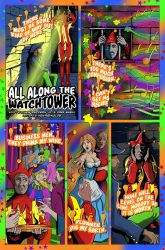 All Along the Watchtower Page1 by KenReynoldsDesign