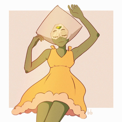 Peridot Yellow dress by 1FERUS