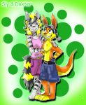 Sly and Daxter by GamePonySly