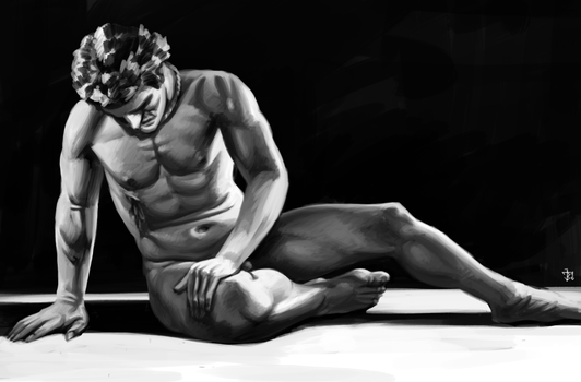 Dying Gaul by JanBoruta