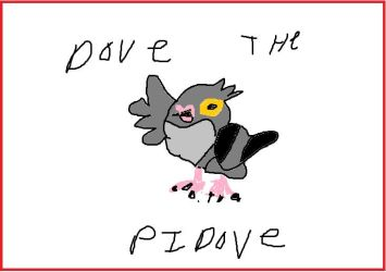 Dove The Pidove by mewtwo7778