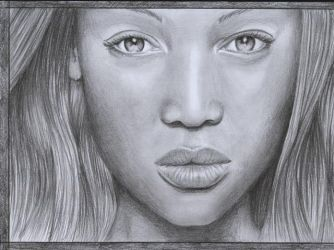 Tyra Banks by D17rulez