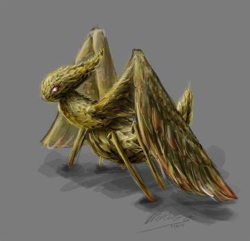 Monster bug concept by IjiRyushippo