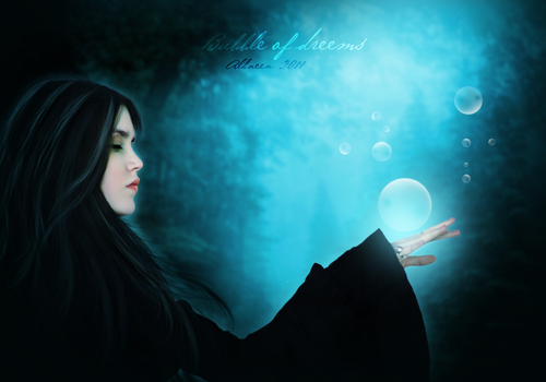 bubble of dreams by al7neen0