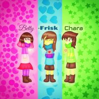 Glitchtale kids by SuhaiCo