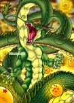 Super Saiyan'd Shenron by Silent-Neutral