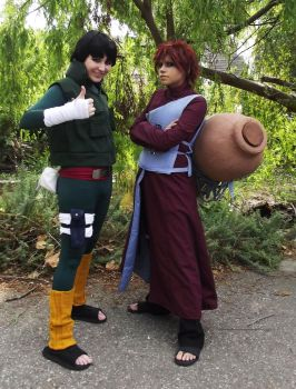 Gaara and Lee 3 - Fanime2015 by eyliuhs