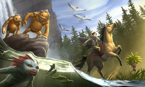 004 Hyrule Races by Irontree