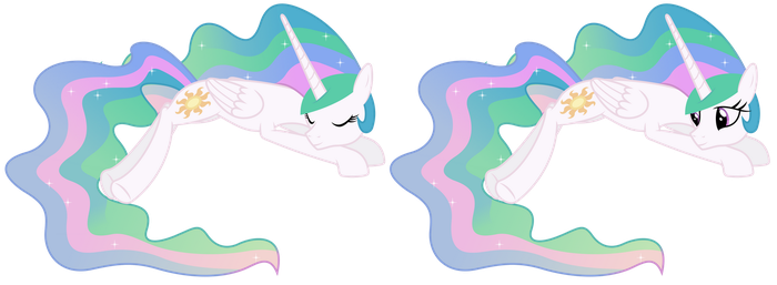 Princess Celestia Lying Down by 90Sigma