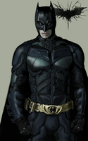Dark Knight Rises Batman by billycsk