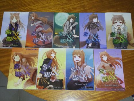 Spice and Wolf Novels...Completed! by Amaranthias
