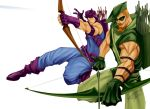 hawkeye green arrow by tedkeys