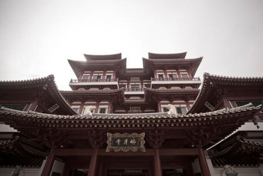 Buddah Tooth Relic Temple by karwahe