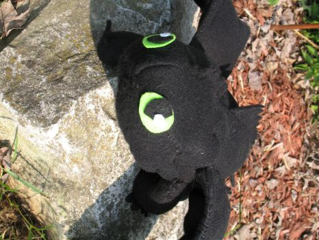 Toothless Plushie 3 by Dellessanna
